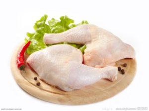Домашний куриный окорочок